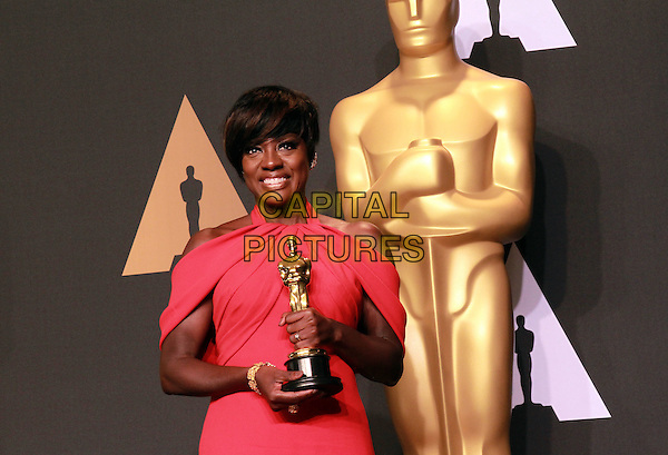 26 February 2017 - Hollywood, California -Viola Davis . 89th Annual Academy Awards presented by the Academy of Motion Picture Arts and Sciences held at Hollywood &amp; Highland Center. <br /> CAP/ADM/TB<br /> &copy;TB/ADM/Capital Pictures