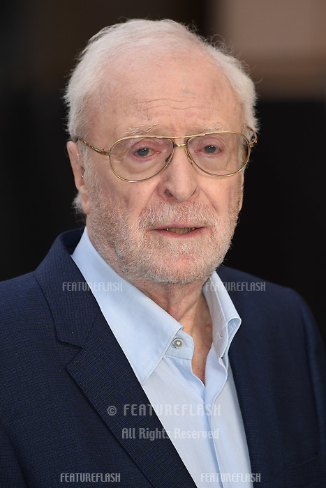 "LONDON, UK. September 12, 2018: Sir Michael Caine at the World Premiere of ""King of Thieves"" at the Vue Cinema, Leicester Square, London.<br /> Picture: Steve Vas/Featureflash"