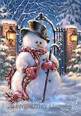 Dona Gelsinger, CHRISTMAS SANTA, SNOWMAN, classical, paintings(USGE0906,#X#) Weihnachtsmänner, Papá Noel, Weihnachten, Navidad, illustrations, pinturas klassisch, clásico