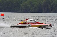 "Rob Stevenson, CS-10 ""Wetspot""  2.5 Litre Stock class hydroplane.Syracuse Hydrofest, Onondaga Lake, Syracuse, NY.20/21 June, 2009, Dayton, OH USA..©F. Peirce Williams 2009 USA.F.Peirce Williams.photography.ref: RAW (.NEF) File Available"