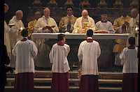 Michael McCollum.6/24/11.A holy ceremony conducted in St. Peter's Basilica in Vatican City