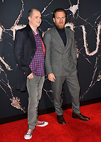"LOS ANGELES, USA. October 30, 2019: Mike Flanagan & Ewan McGregor at the US premiere of ""Doctor Sleep"" at the Regency Village Theatre.<br /> Picture: Paul Smith/Featureflash"