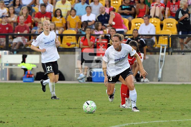 The Atlanta Beat and Magic Jack played to a 0-0 draw, Saturday, July 23, 2011 at Atlanta Beat - KSY Stadium, before a franchise record crowd of 9,345.