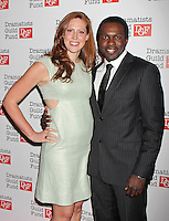 Joshua Henry and Catherine Stringer attend The Dramatists Guild Fun's 50th Anniversary Gala at the Mandarin Oriental in New York, 03.06.2012...Credit: Rolf Mueller/face to face /MediaPunch Inc. ***FOR USA ONLY***