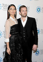 NEW YORK, NY - OCTOBER 27: Mode Lily Aldridge Followill and Caleb Followill attends the World of Children Awards Ceremony at 583 Park  on October 27, 2016 in New York City. Photo by John Palmer/ MediaPunch