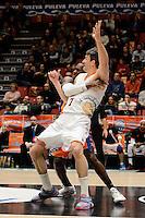Sato vs Panko<br /> Liga Endesa ACB - 2014/15<br /> J17<br /> Valencia Basket vs Montakit Fuenlabrada