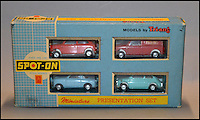 BNPS.co.uk (01202 558833)<br /> Pic: Astons/BNPS<br /> <br /> Spot On Minatures Presentation Set.<br /> <br /> A retired historian's remarkable collection of 700 toy cars has sold for almost &pound;100,000.<br /> <br /> Anders Clausager, 67, amassed so many toy cars over the past 60 years he got his own auction to off-load them.<br /> <br /> A collector from Sheffield paid &pound;2,100 for a pack of 12 Lego miniatures set, while a prestigious French Dinky Toys set went for &pound;1,450 and a Corgi Toys set went for &pound;850 at the auction in Dudley.