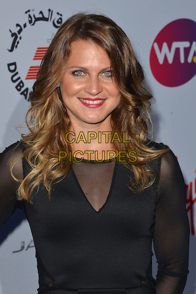 Lucie Safarova<br /> attending the WTA Pre-Wimbledon Party at  The Roof Gardens, Kensington, London England 25th June 2015.<br /> CAP/PL<br /> &copy;Phil Loftus/Capital Pictures