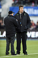 Worcester Warriors Head Coach Carl Hogg. Aviva Premiership match, between Saracens and Worcester Warriors on December 30, 2017 at Allianz Park in London, England. Photo by: Patrick Khachfe / JMP
