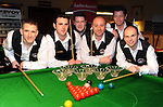 The Drumaness, Co. Down team that finished runners-up in the Ladbrokes All Ireland Club Snooker Championship final at The Gleneagle Hotel, Killarney. From left are Martin McGoran, Darren Dornan, Hugh Murdock, Ramie McAllister, Peter Gray and Gary Menary. Picture: Eamonn Keogh (MacMonagle, Killarney)