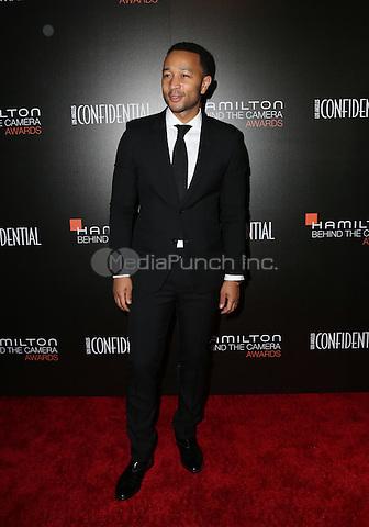 LOS ANGELES, CA - NOVEMBER 06: John Legend arrives at the 9th Hamilton Behind The Camera Awards at Exchange LA on November 6, 2016 in Los Angeles, California. (Credit: Parisa Afsahi/MediaPunch).