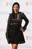 London, UK. 8 May 2016. Liz Bonin. Red carpet  celebrity arrivals for the House Of Fraser British Academy Television Awards at the Royal Festival Hall.