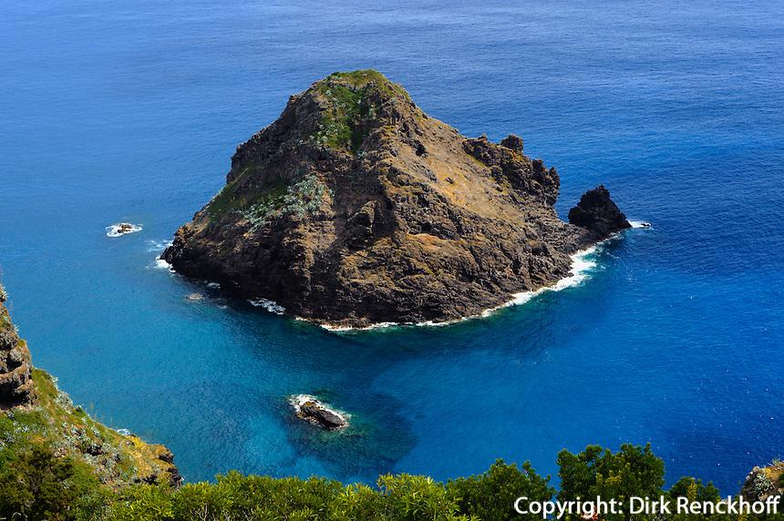 Ilheu de Sao Lourenco auf der Insel Santa Maria, Azoren, Portugal