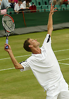 28-06-2004, London, tennis, Wimbledon, Sjeng Schalken