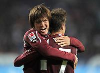 Fussball Bundesliga 2011/12: FC Augsburg - VFB Stuttgart