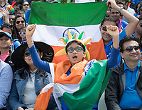 Indian fans cheered every run during India vs Australia, ICC World Cup Cricket at The Oval on 9th June 2019