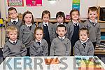 Pupils from Scoil Bhreac Chluain, Annascaul, who started school this year. Front: Lorcan Clancy, Alana Whelehan, Liam Flahive, Aoibhín Lyne. Back: Mattie Flahive, Isabelle Evans, Siún Phelan, Rachel Griffin, Rachel O'Leary, Joseph O'Hanlon.