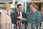 From l-r: Mary Hanafin, Minister for Education and Science, Michael Carmody, President of the IT, Tralee and Cllr. Flan Garvey, Chairman of the Governing Body of the IT, Tralee.   Copyright Kerry's Eye 2008