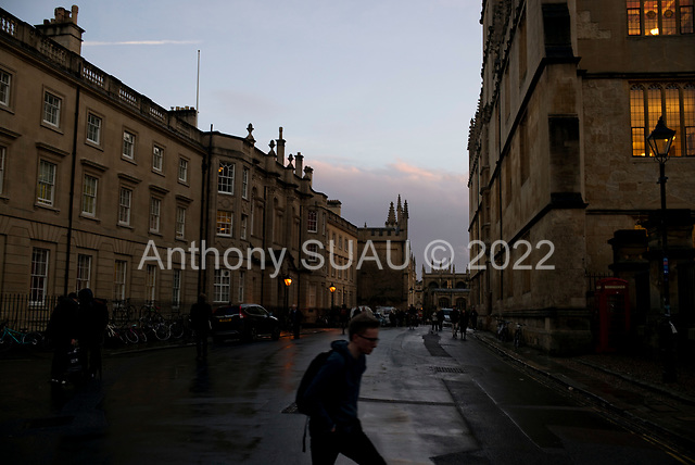 Oxford University<br /> Oxford, United Kingdom<br /> November 28, 2018<br /> <br /> Catte Street