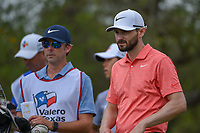 Kyle Stanley (USA) looks over his tee shot on 2 during day 2 of the Valero Texas Open, at the TPC San Antonio Oaks Course, San Antonio, Texas, USA. 4/5/2019.<br /> Picture: Golffile | Ken Murray<br /> <br /> <br /> All photo usage must carry mandatory copyright credit (&copy; Golffile | Ken Murray)