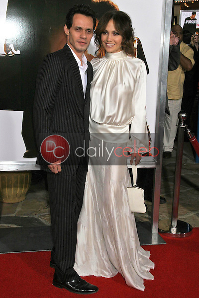 Marc Anthony and Jennifer Lopez<br />