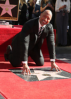 DEC 13 Dwayne Johnson Honored With Star On The Hollywood Walk Of Fame