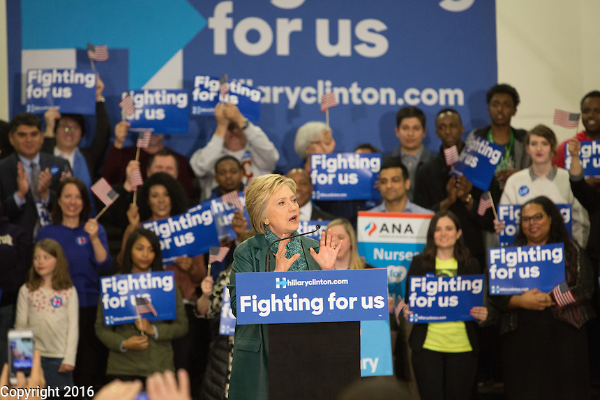 Hillary Clinton is endorsed by Mayor Ed Murray and the American Nurses Association