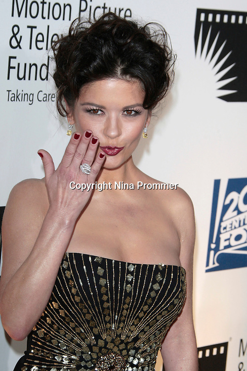 Catherine Zeta Jones at 'A Fine Romance' at Sony Studios, Los Angeles, California..Photo by Nina Prommer/Milestone Photo