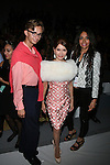 Cole Rumbough,Jean Shafiroff,Lieba Nesis Front Row at Zang Toi Spring 2014 Fashion Show Held During Mercedes Benz Fashion Week NY