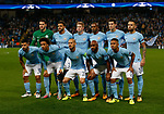 Manchester City team group during the Champions League Group F match at the Emirates Stadium, Manchester. Picture date: September 26th 2017. Picture credit should read: Andrew Yates/Sportimage