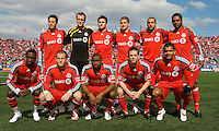 11 April 2009:Starting eleven for Toronto FC  during MLS action at BMO Field Toronto, in a game between FC Dallas and Toronto FC. .Final score was a 1-1 draw.