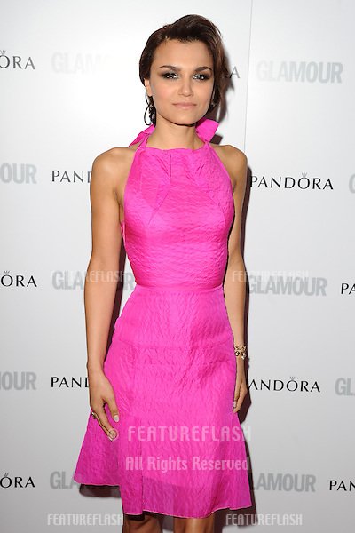 Samantha Barks arriving for the 013 Glamour Women of The Year Awards, Berkeley Square, London. 04/06/2013 Picture by: Steve Vas / Featureflash