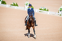 BEL-Lara de Liedekerke-Meier rides Alpaga d'Arville during the FEI World Team and Individual Eventing Championship Dressage. 2018 FEI World Equestrian Games Tryon. Friday 14 September. Copyright Photo: Libby Law Photography