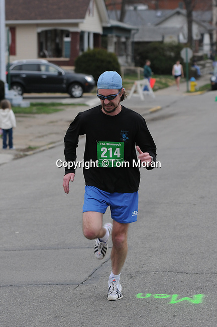 Second Annual Shamrock Run, Jeffersonville, Indiana,  March 16, 2010