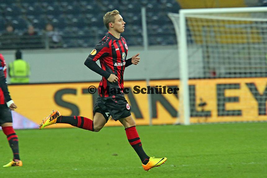 Sonny Kittel (Eintracht) feiert sein Comeback - Eintracht Frankfurt vs. APOEL Nikosia, Commerzbank Arena, Europa League Gruppenphase
