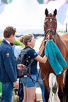 AUS-Christopher Burton with Nobilis 18 during the Horse Inspection for the DHL-Preis - Eventing Nations Cup CICO3*. 2017 GER-CHIO Aachen Weltfest des Pferdesports. Thursday 20 July. Copyright Photo: Libby Law Photography