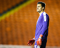 West Bromwich Albion U21's Jonathan Bond<br /> <br /> Photographer Alex Dodd/CameraSport<br /> <br /> The EFL Checkatrade Trophy Northern Group C - Blackpool v West Bromwich Albion U21 - Tuesday 9th October 2018 - Bloomfield Road - Blackpool<br />  <br /> World Copyright &copy; 2018 CameraSport. All rights reserved. 43 Linden Ave. Countesthorpe. Leicester. England. LE8 5PG - Tel: +44 (0) 116 277 4147 - admin@camerasport.com - www.camerasport.com