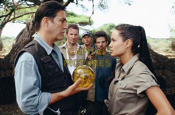 CIARAN HINDS & ANGELINA JOLIE.in Lara Croft Tombraider: The Cradle Of Life.Filmstill - Editorial Use Only.Ref: FB.sales@capitalpictures.com.www.capitalpictures.com.Supplied by Capital Pictures.
