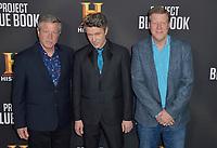 03 January 2019 - Los Angeles, California - Joel Hynek, Aidan Gillen, Paul Hynek. &quot;Project Blue Book&quot; History Scripted Series Los Angeles Premiere held at Simon House.          <br /> CAP/ADM<br /> &copy;ADM/Capital Pictures