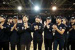 volunteers pose during the Longines Hong Kong Masters 2015 at the Asiaworld Expo on 15 February 2015 in Hong Kong, China. Photo by Jerome Favre / Power Sport Images