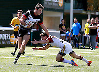 Broncos No1 in action during the U19's game between London Broncos and Catalans at Ealing Trailfinders, Ealing, on Sun May 1, 2016