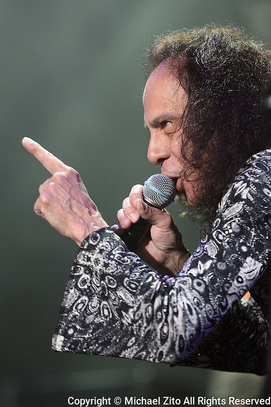 Los Angeles, CA: Ronnie James Dio & Heaven and Hell perform at the Los Angeles Forum in Inglewood, CA