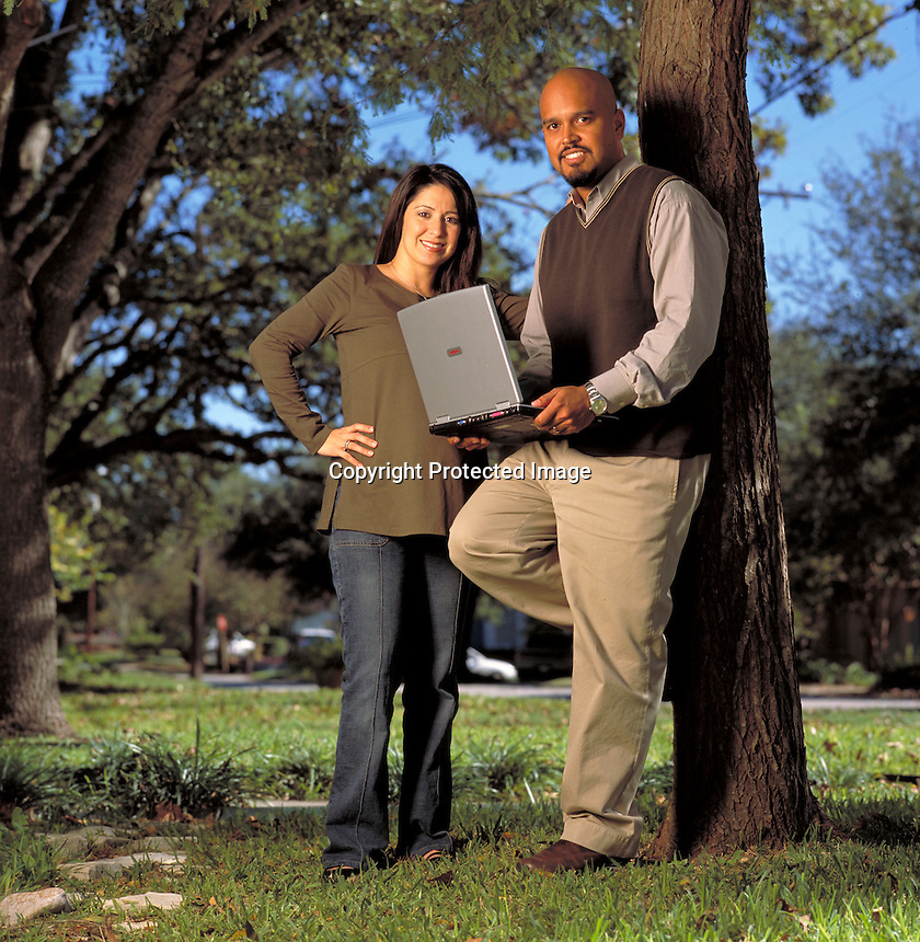 Denise &amp; Junab Ali, Mobius Partners. San Antonio, TX<br /> Photo by Chris Covatta