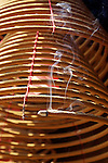 Incense Coils In The Man Mo Temple, Taipo.