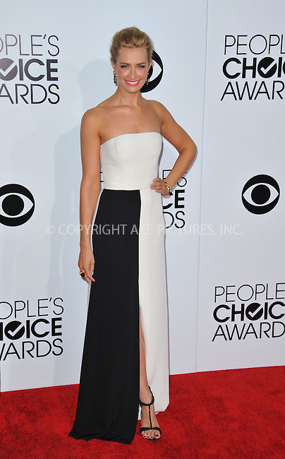 WWW.ACEPIXS.COM<br /> <br /> <br /> January 8, 2014, Los Angeles, CA.<br /> <br /> Beth Behrs arriving atThe 40th Annual People's Choice Awards held at Nokia Theatre L.A. Live on January 8, 2014 in Los Angeles, California. <br /> <br /> <br /> <br /> <br /> <br /> <br /> By Line: Peter West/ACE Pictures<br /> <br /> ACE Pictures, Inc<br /> Tel: 646 769 0430<br /> Email: info@acepixs.com