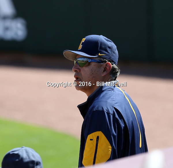 David Esquer, head coach - 2016 California Golden Bears (Bill Mitchell)