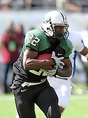 Miami Central Rockets running back Joseph Yearby #22 runs upfield during the first quarter of the Florida High School Athletic Association 6A Championship Game at Florida's Citrus Bowl on December 17, 2011 in Orlando, Florida.  The score at halftime is Armwood 16 - Miami Central 14.  (Photo By Mike Janes Photography)