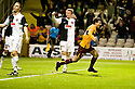 26/10/2010   Copyright  Pic : James Stewart.sct_jsp008_motherwell_v_dunde_utd  .::  ALAN GOW CELEBRATES AFTER HE SCORES MOTHERWELL'S LATE WINNER ::.James Stewart Photography 19 Carronlea Drive, Falkirk. FK2 8DN      Vat Reg No. 607 6932 25.Telephone      : +44 (0)1324 570291 .Mobile              : +44 (0)7721 416997.E-mail  :  jim@jspa.co.uk.If you require further information then contact Jim Stewart on any of the numbers above.........