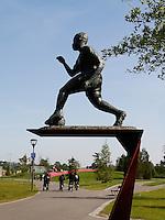 AMSTERDAM- Bijlmer park. Recreatie en sportpark