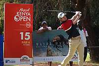 Ricardo Gouveia (POR) in action during the first round of the Magical Kenya Open presented by ABSA, played at Karen Country Club, Nairobi, Kenya. 14/03/2019<br /> Picture: Golffile | Phil Inglis<br /> <br /> <br /> All photo usage must carry mandatory copyright credit (&copy; Golffile | Phil Inglis)